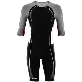 HUUB Anemoi Aero Strój triathlonowy Mężczyźni, czarny/szary